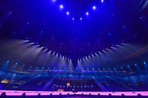 Hluti af áhorfendapöllunum. Mynd: eurovision.tv