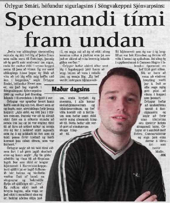 Viðtal_orlygursmari_DV.29.februar.2000