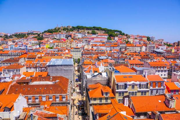 aerial-view-over-city-lisbon-sunny-day-portugal-95598692